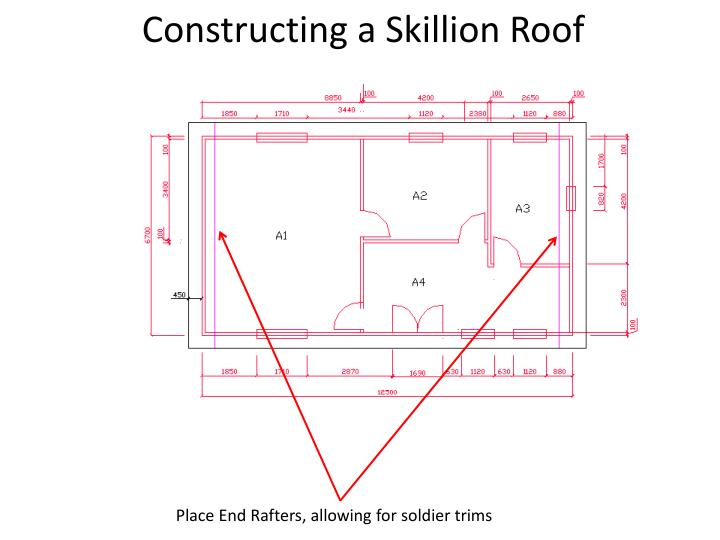 Constructing a Skillion Roof