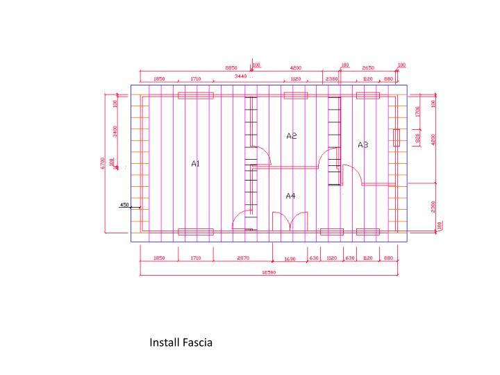 Install Fascia