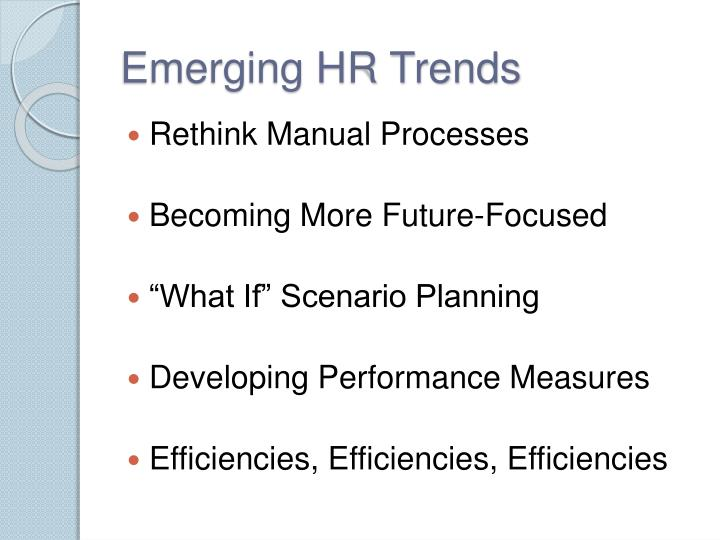 Emerging HR Trends