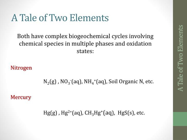 A tale of two elements