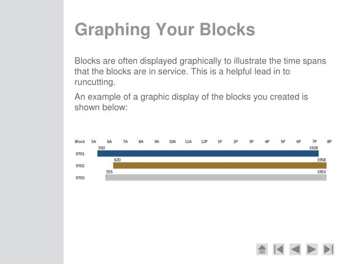 Graphing Your Blocks