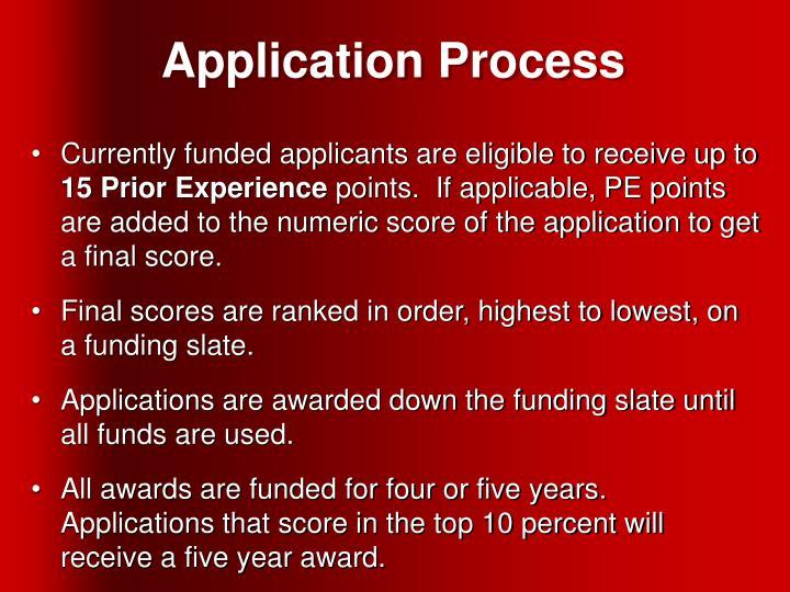 Application Process