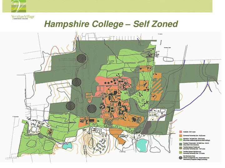 Hampshire College – Self Zoned