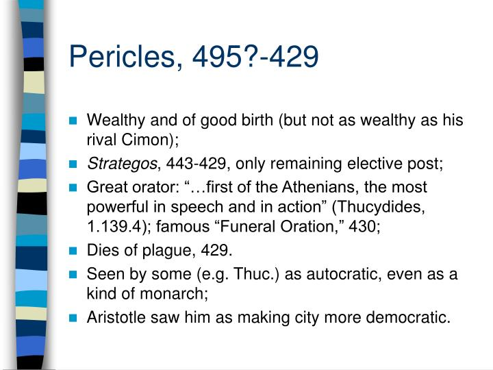 Pericles, 495?-429