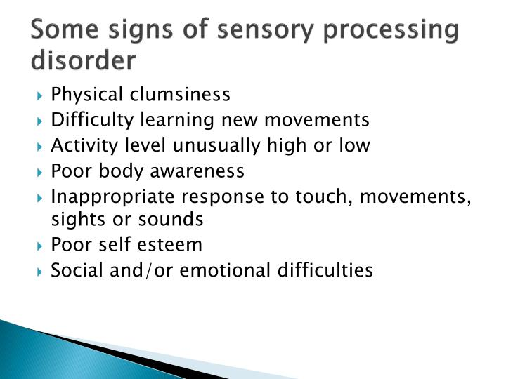 intoductory awareness of sensory loss The sensory system is a part of the nervous system responsible for processing sensory information, meaning things we see, hear, touch, smell, and taste below is a list of the most common conditions of the sensory system seen in children waiting for forever families.