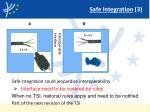 safe integration 3