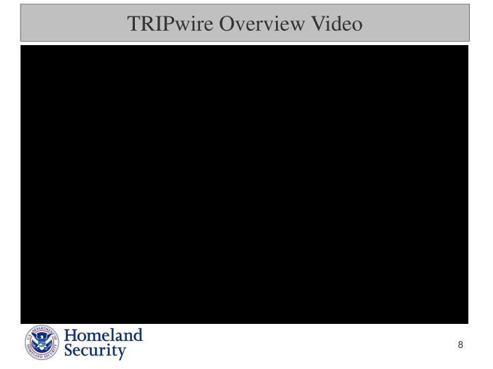 TRIPwire Overview Video