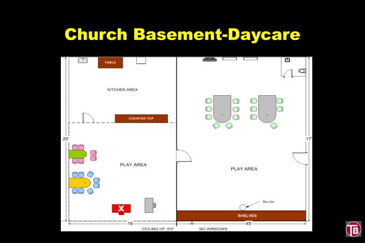 Church Basement-Daycare