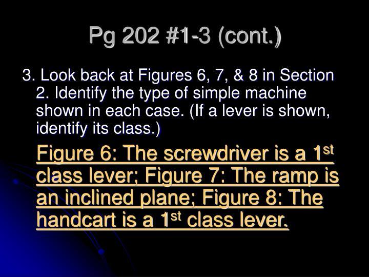 Pg 202 #1-3 (cont.)