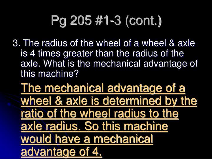 Pg 205 #1-3 (cont.)