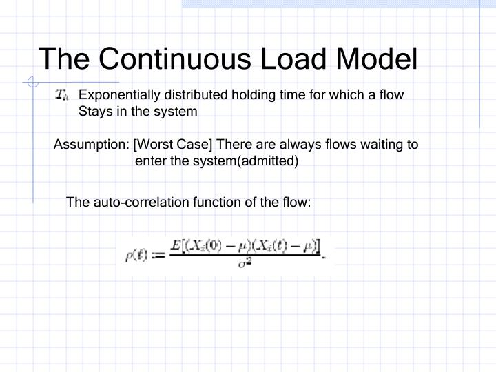The Continuous Load Model