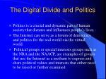 the digital divide and politics