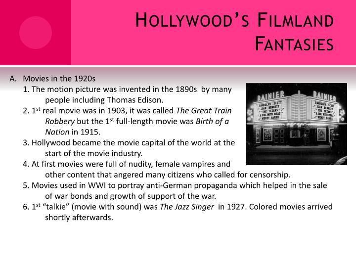 Hollywood's