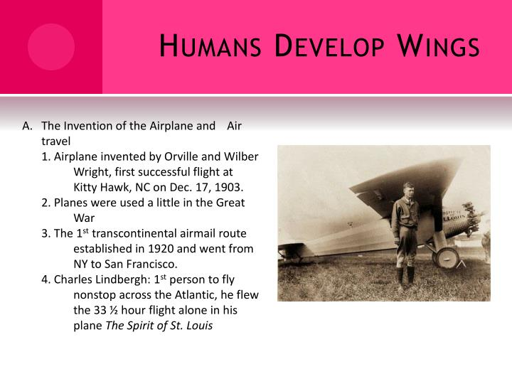 Humans Develop Wings