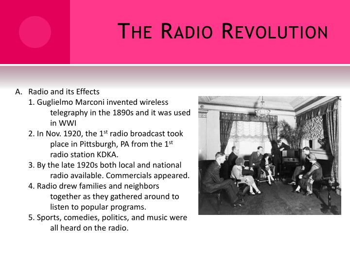 The Radio Revolution