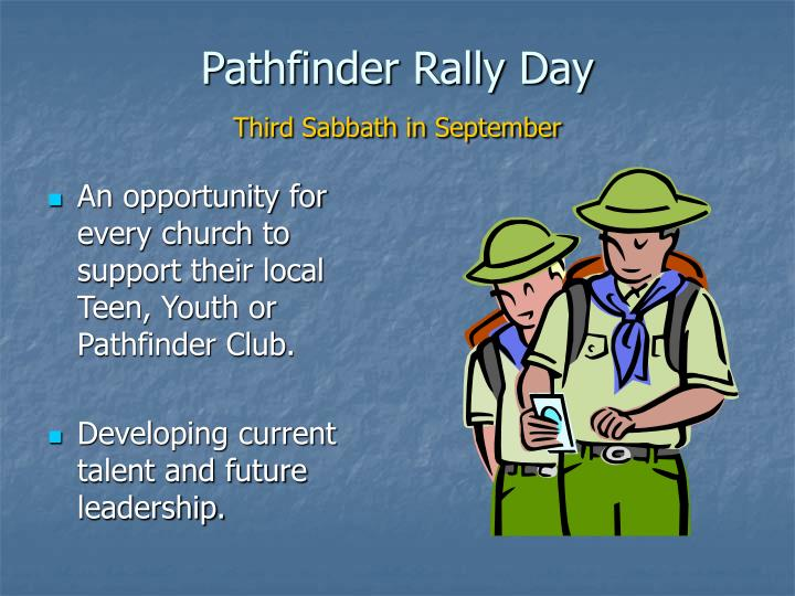 Pathfinder Rally Day