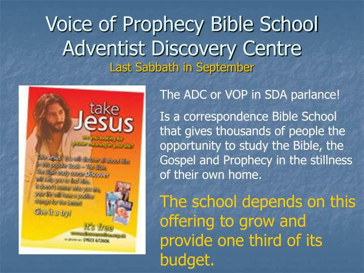 Voice of Prophecy Bible School