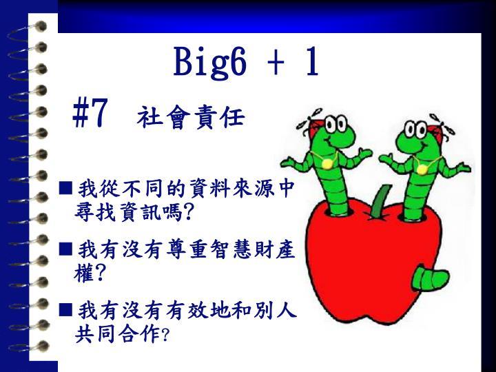 Big6 + 1