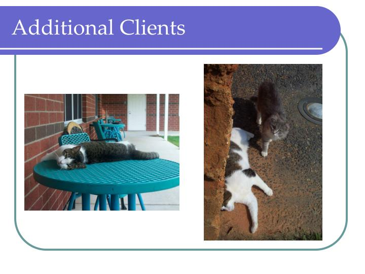 Additional Clients