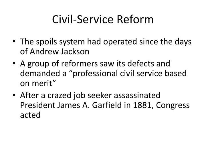 Civil-Service Reform