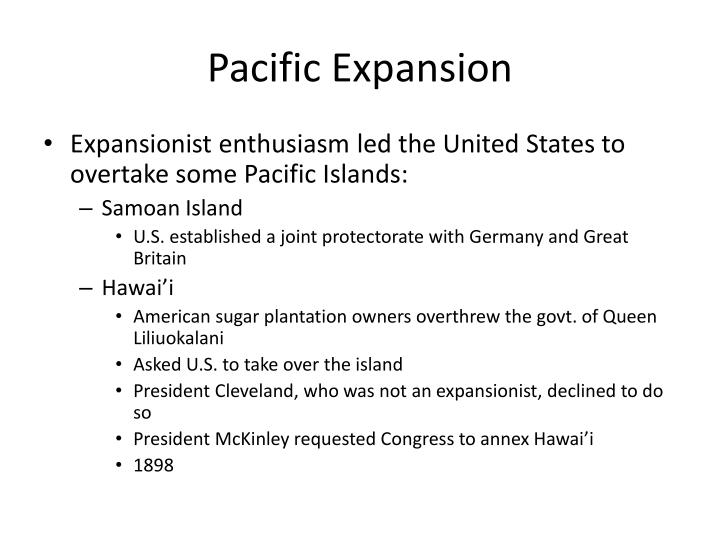 Pacific Expansion