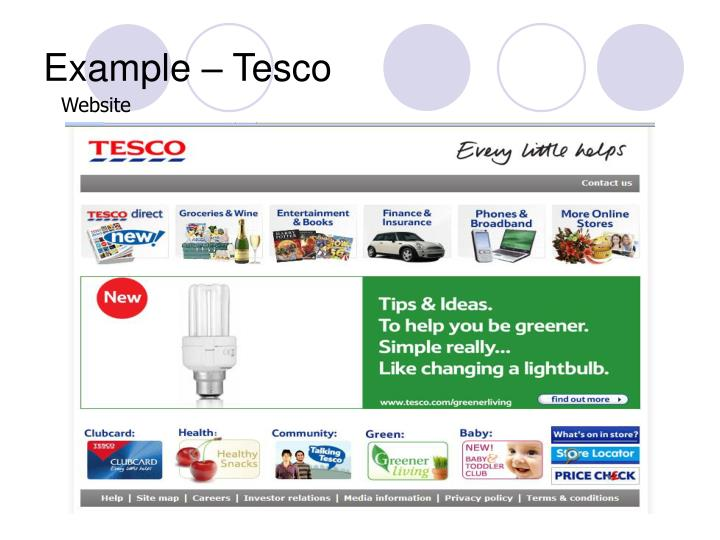 Example tesco