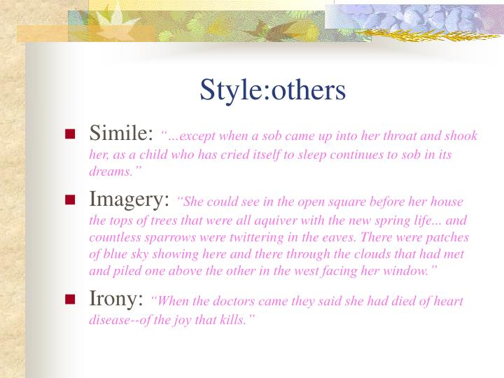 Style:others