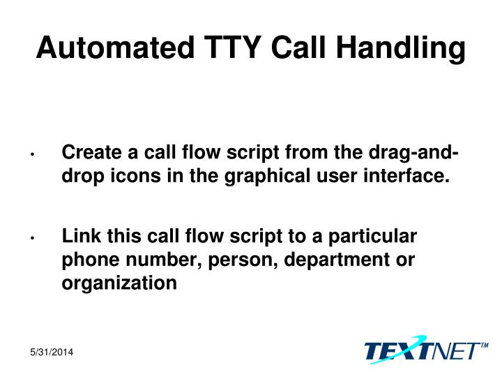 Automated TTY Call Handling