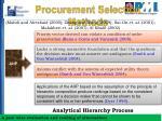 procurement selection methods1