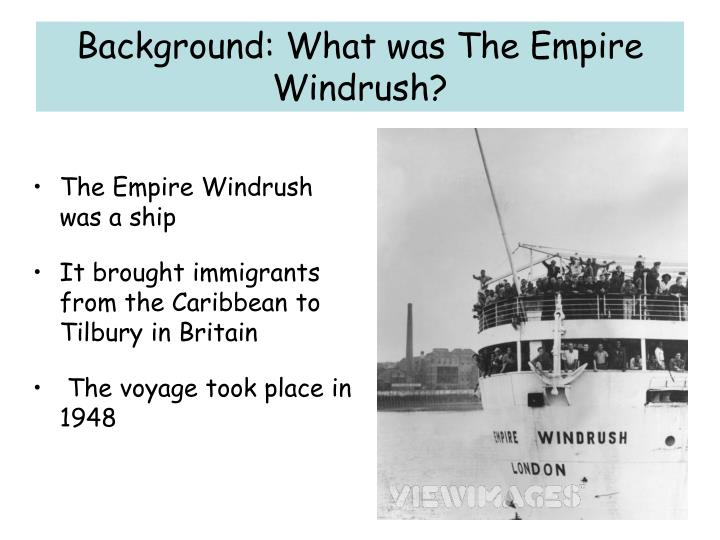 Background: What was The Empire Windrush?
