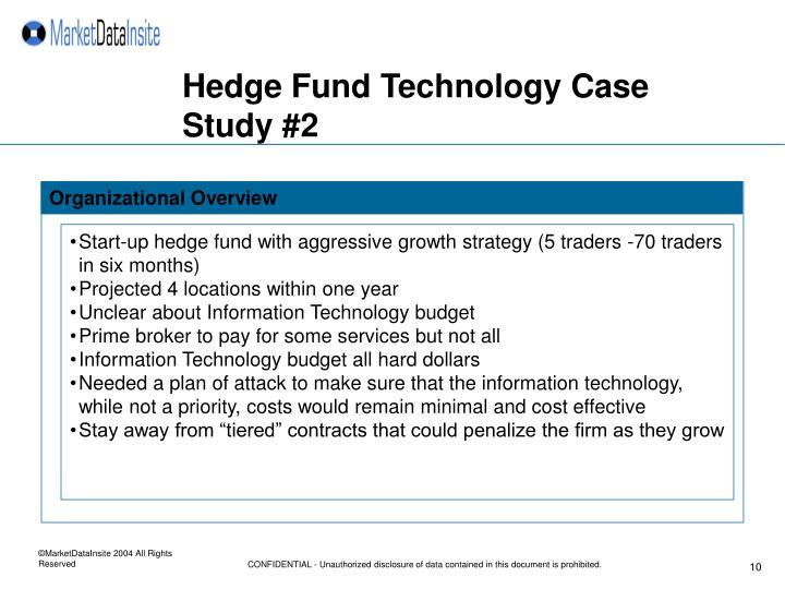 Hedge Fund Technology Case Study #2