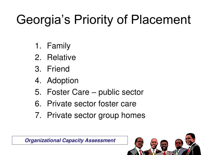 Georgia's Priority of Placement