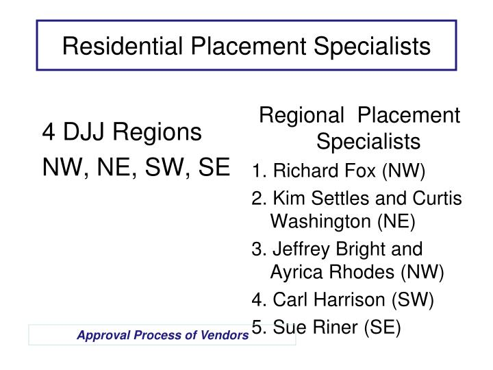 4 DJJ Regions