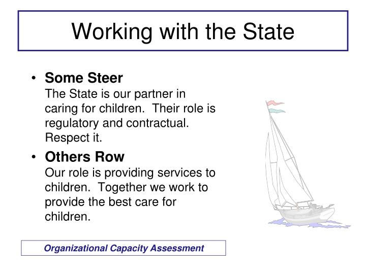 Working with the State