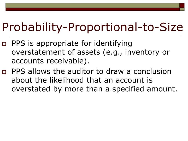 Probability-Proportional-to-Size