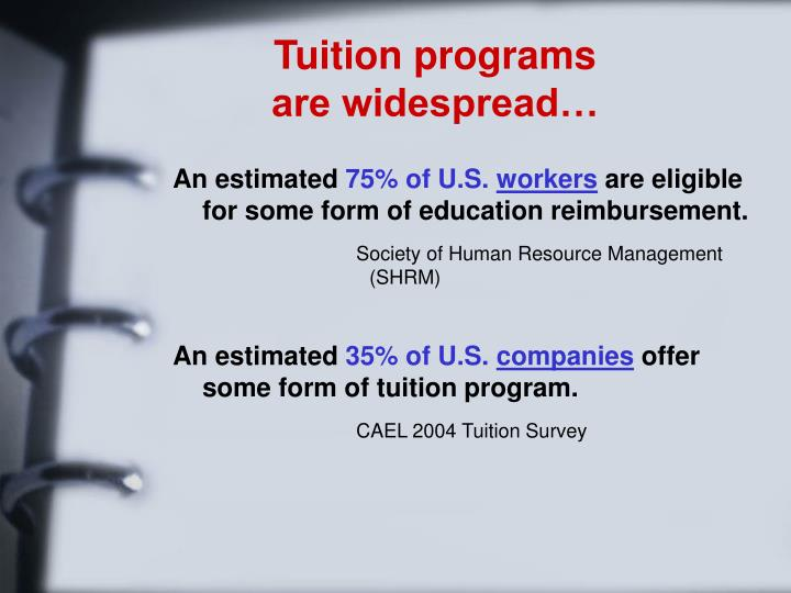 Tuition programs