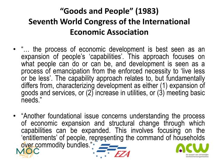 """""""Goods and People"""" (1983)"""