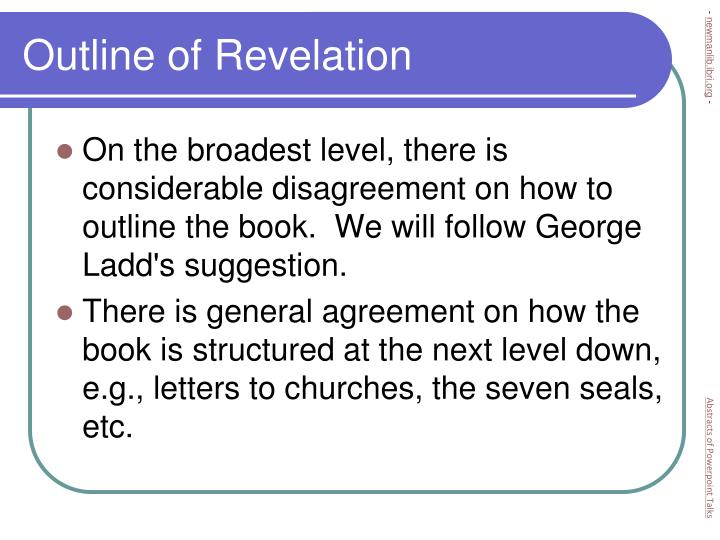 Outline of Revelation