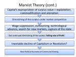 marxist theory cont