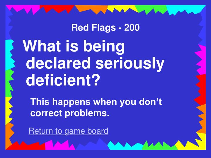 Red Flags - 200
