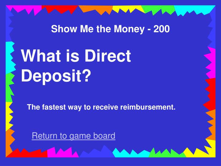 Show Me the Money - 200
