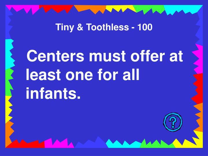 Tiny & Toothless - 100