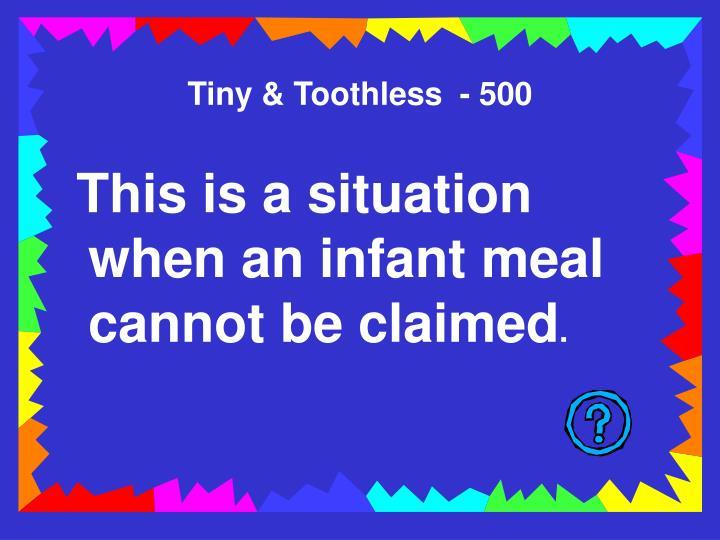 Tiny & Toothless  - 500