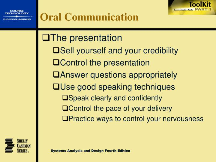 Oral Communication