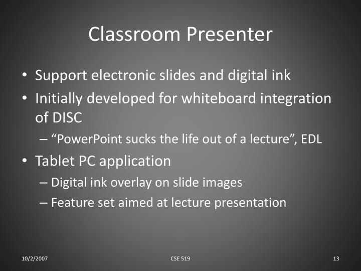 Classroom Presenter