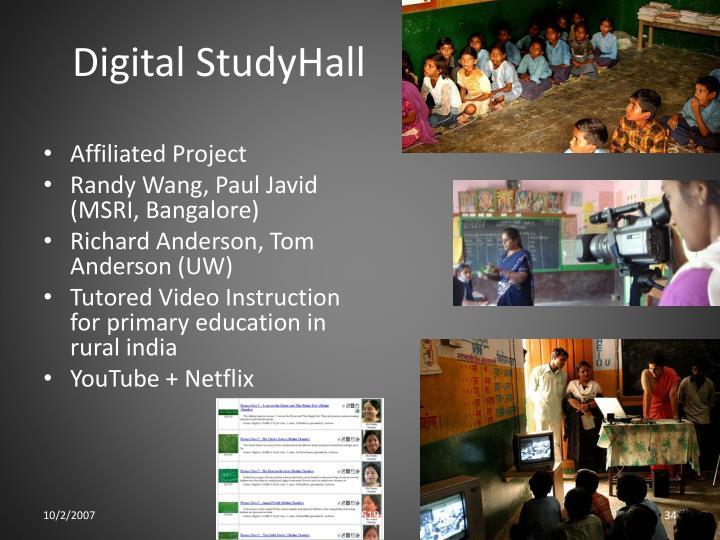 Digital StudyHall