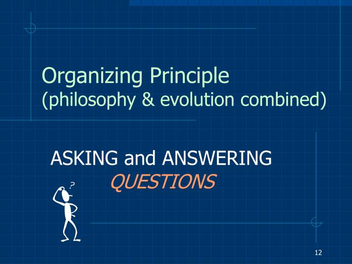Organizing Principle
