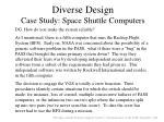 diverse design case study space shuttle computers1