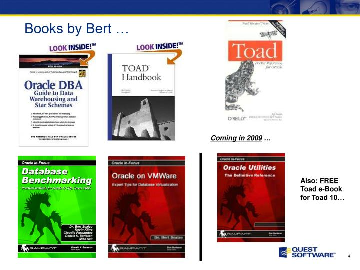 Books by Bert …