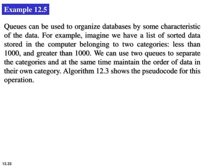 Example 12.5